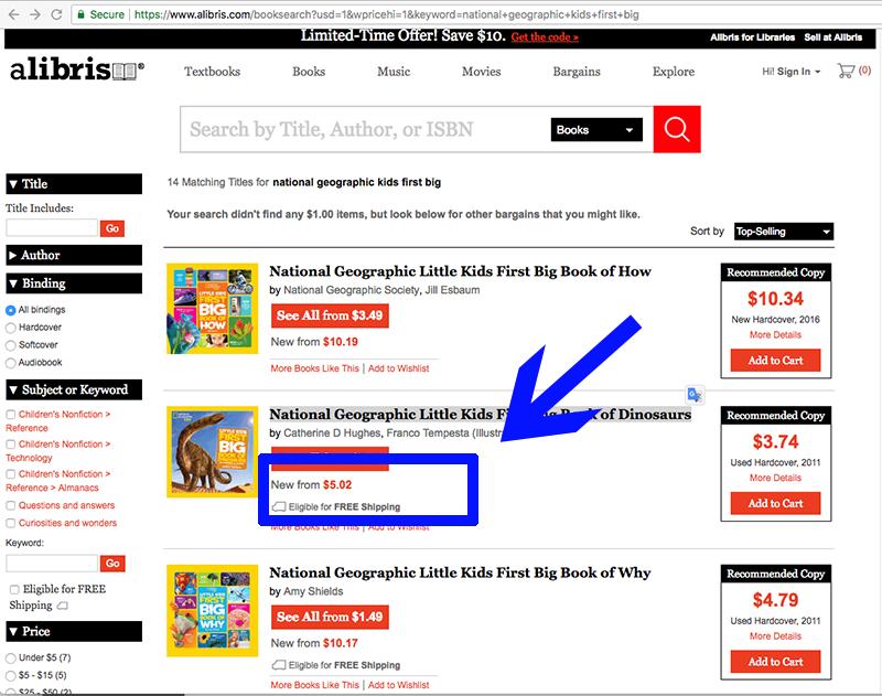 cheaper children's books Alibris