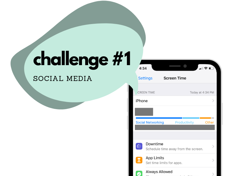 declutter my digital life - challenge 1 cutting back social media